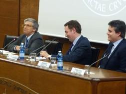 Andrea Tornielli, Federico Piana (Moderatore), Rosario Carello.