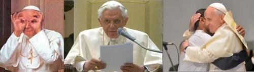 """""""On venait voir J.Paul II, on venait écouter Benoît XVI, on vient toucher François"""" (Card. Tauran)"""