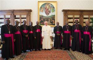 Prélats du Burundi en Visite ad limina